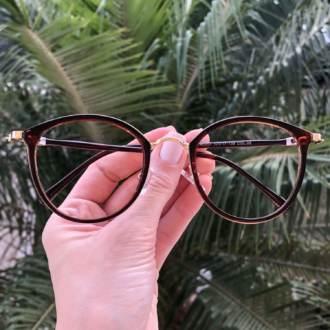 safine com br oculos de grau redondo marrom bru 3