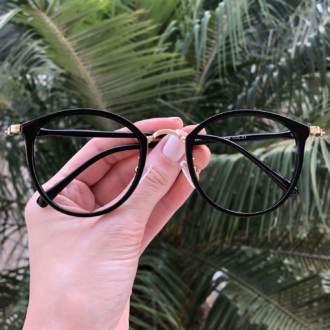 safine com br oculos de grau redondo preto bru
