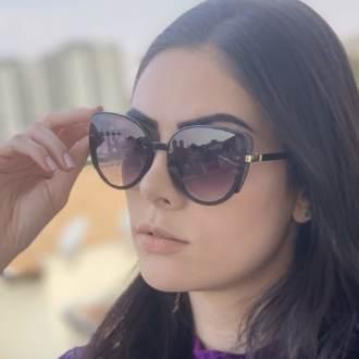 safine com br oculos de sol gatinho preto amy 3
