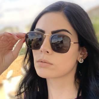 safine com br oculos de sol quadrado marrom fosco luiza 3