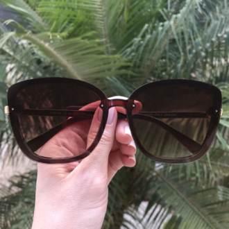 safine com br oculos de sol quadrado marrom renata 2