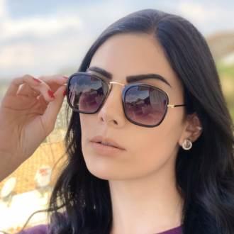 safine com br oculos de sol quadrado preto luiza 2