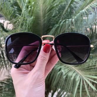 safine com br oculos de sol quadrado preto luiza 3