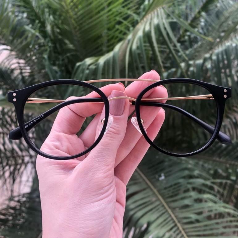 safine com br oculos 2 em 1 redondo dourado com preto babi 3