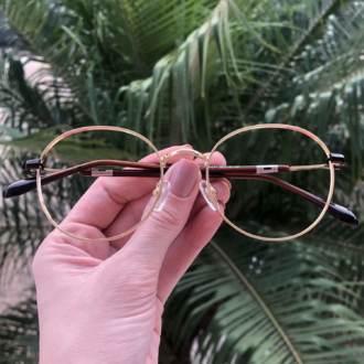 safine com br oculos 2 em 1 redondo dourado com verde mila 1