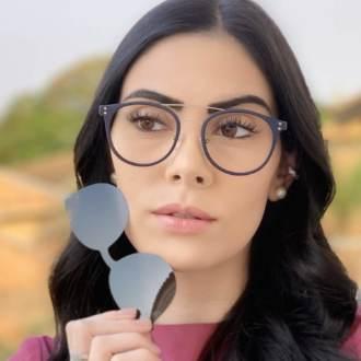 safine com br oculos 2 em 1 redondo grafite com azul babi 1