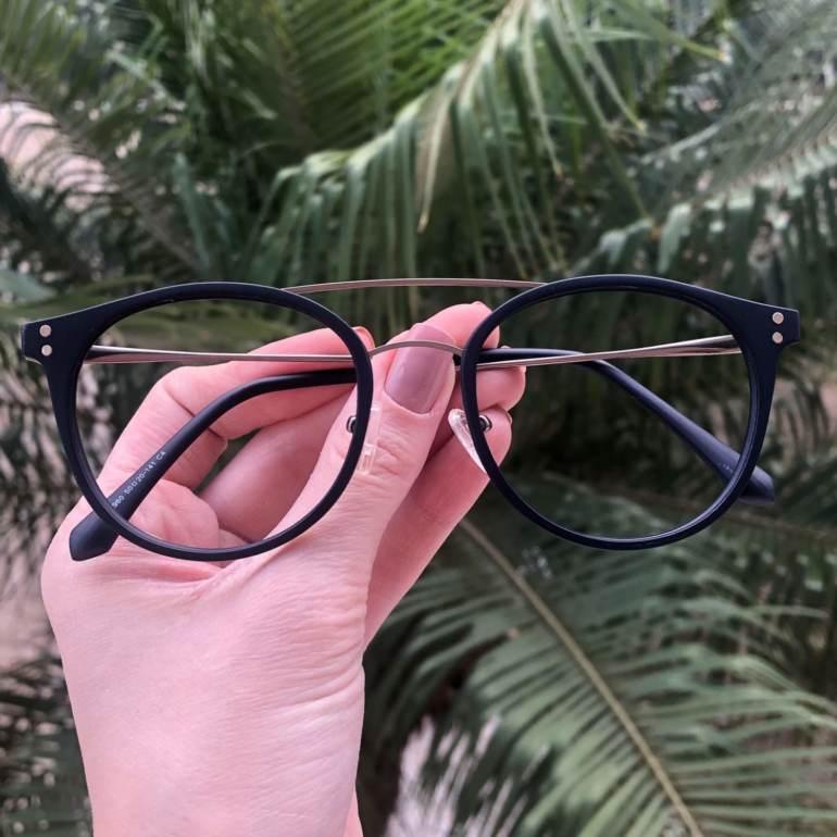 safine com br oculos 2 em 1 redondo grafite com azul babi 3