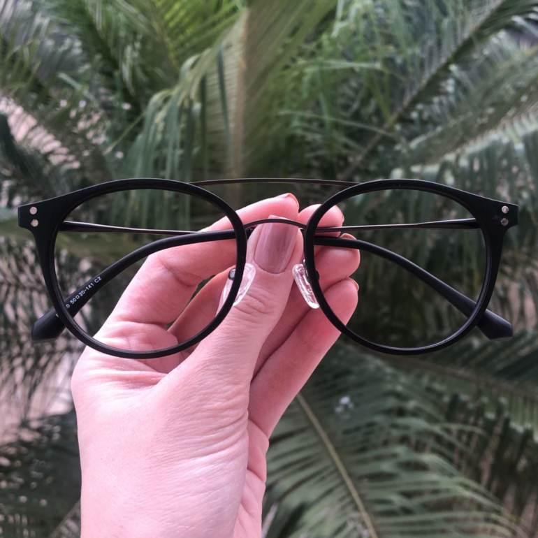 safine com br oculos 2 em 1 redondo grafite com preto babi 1