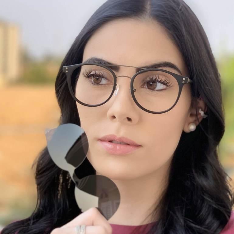 safine com br oculos 2 em 1 redondo grafite com preto babi 4