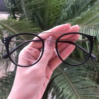 safine com br oculos 2 em 1 redondo prata com preto babi 3