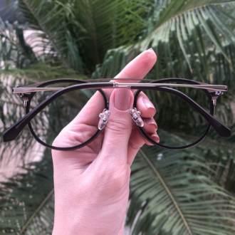 safine com br oculos 2 em 1 redondo prata com preto babi 4