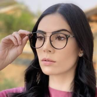 safine com br oculos 2 em 1 redondo preto babi 2