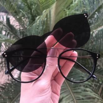 safine com br oculos 2 em 1 redondo preto babi 3