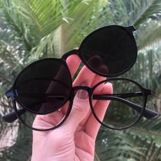safine com br oculos 2 em 1 redondo preto mari
