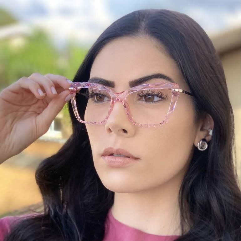 safine com br oculos de grau analice rosa 1