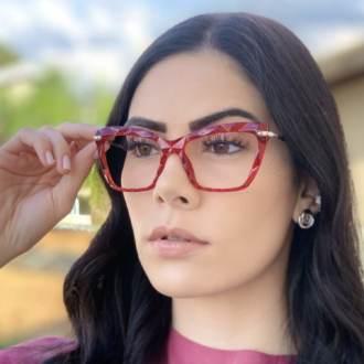 safine com br oculos de grau analice vermelho 3