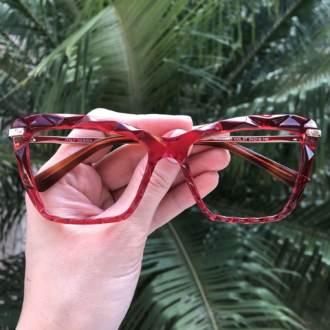 safine com br oculos de grau analice vermelho