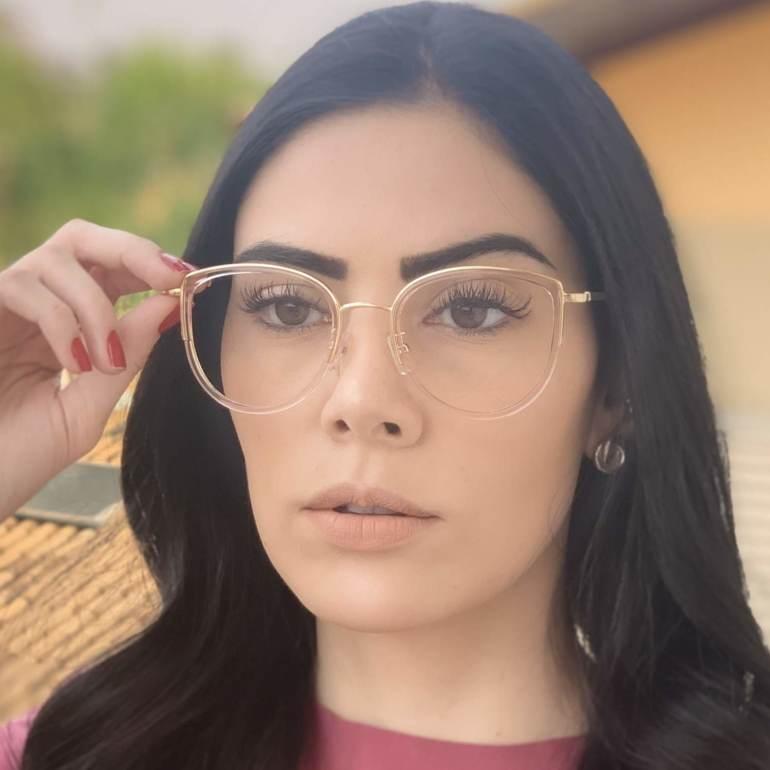 safine com br oculos de grau gatinho rose cecilia 3