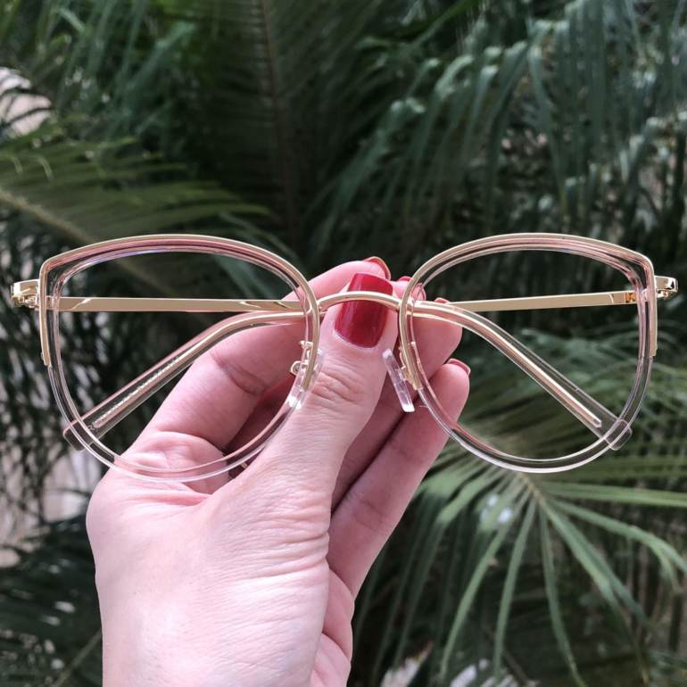 safine com br oculos de grau gatinho rose cecilia