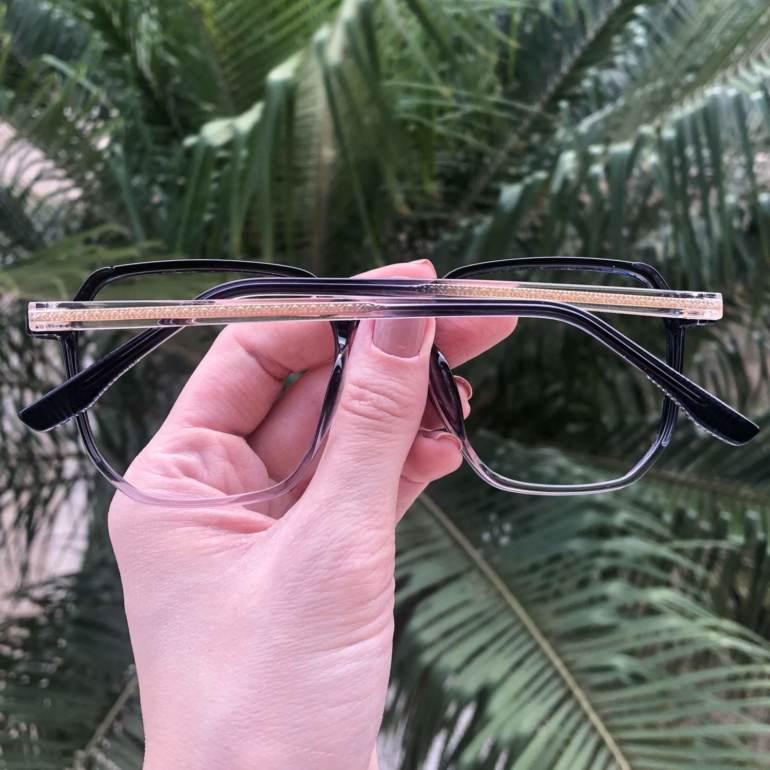 safine com br oculos de grau quadrado azul mage 4