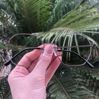 safine com br oculos de grau quadrado prata carol 3