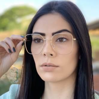 safine com br oculos de grau dourado carla 3