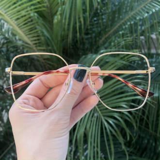 safine com br oculos de grau dourado carla