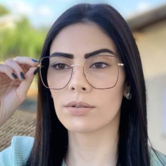safine com br oculos de grau dourado com marsala carla 3