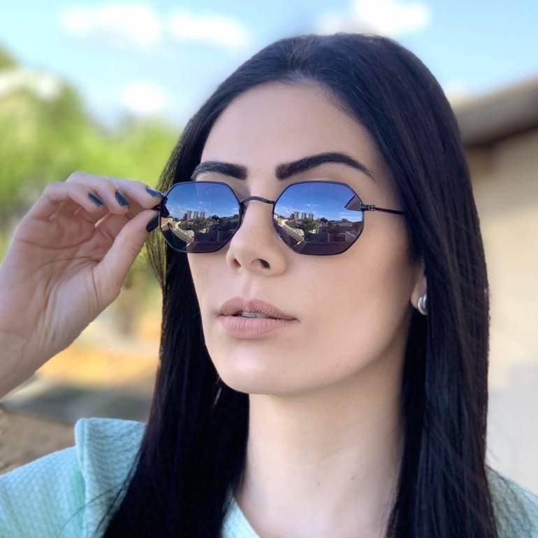 safine com br oculos de sol hexagonal preto luci 1