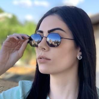 safine com br oculos de sol hexagonal preto luci 2