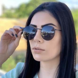 safine com br oculos de sol redondo preto laura 2 0 3