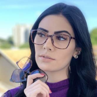 safine com br oculos de grau 3 em 1 retangular tartaruga anti blue 3