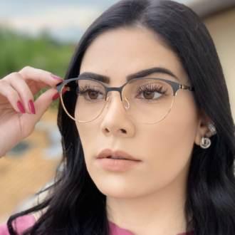 safine com br oculos de grau redondo preto lizzy 3