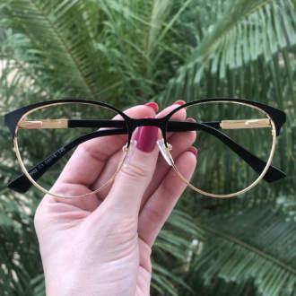safine com br oculos de grau redondo preto lizzy
