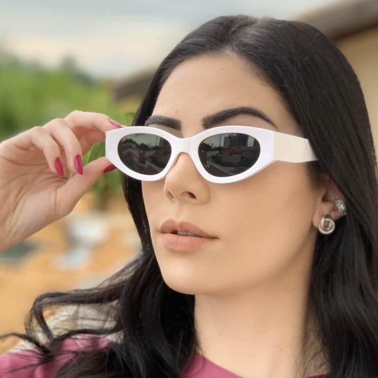 safine com br oculos de sol gatinho branco kim