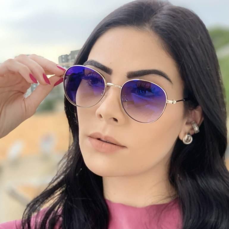 safine com br oculos de sol redondo prata lari 2