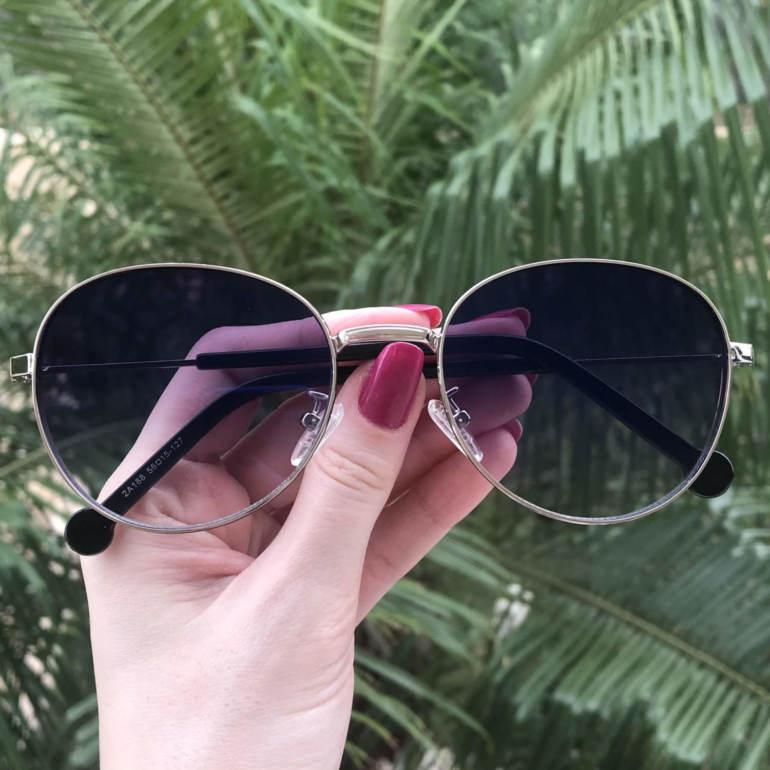 safine com br oculos de sol redondo prata lari 3