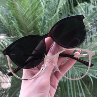 safine com br oculos 2 em 1 gatinho marrom cleo