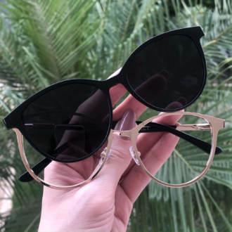 safine com br oculos 2 em 1 gatinho preto cleo 3