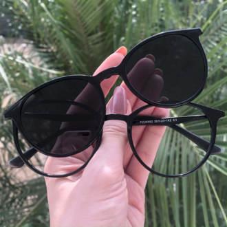 safine com br oculos 2 em 1 redondo preto cloe