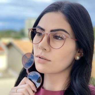 safine com br oculos 2 em 1 redondo rosa cloe 1