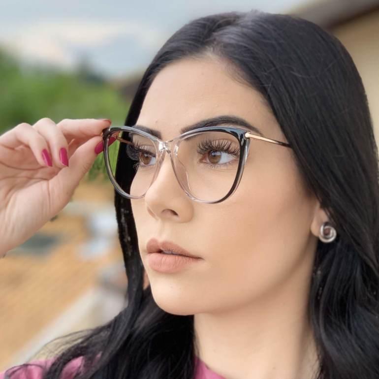 safine com br oculos de grau gatinho cinza doris 2