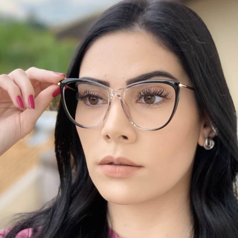 safine com br oculos de grau gatinho cinza doris 3