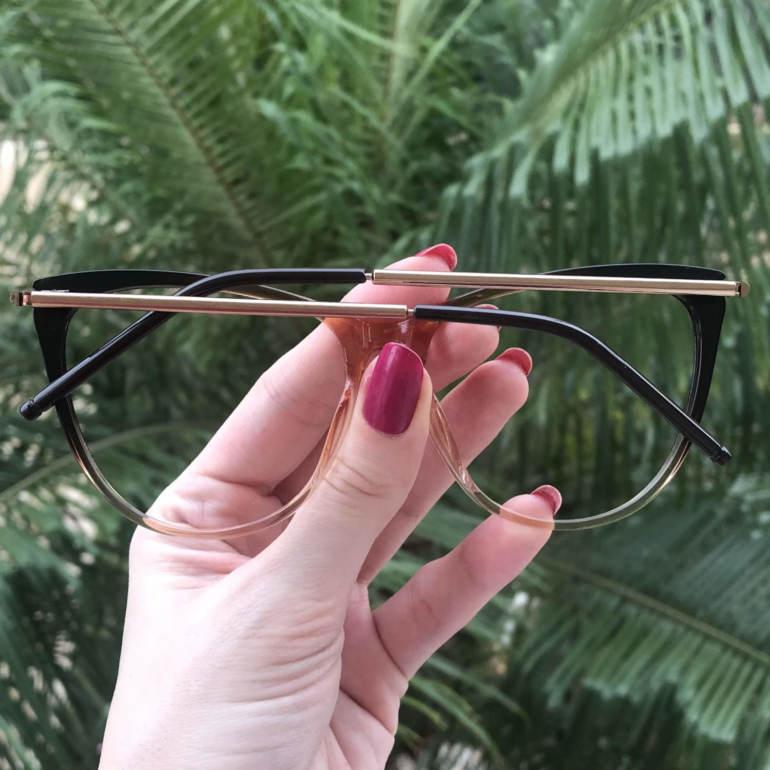 safine com br oculos de grau gatinho marrom doris 1