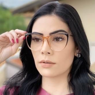 safine com br oculos de grau gatinho marrom doris 3