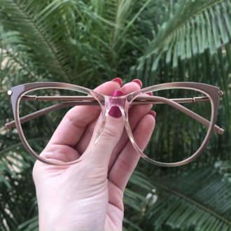 safine com br oculos de grau gatinho nude doris 3
