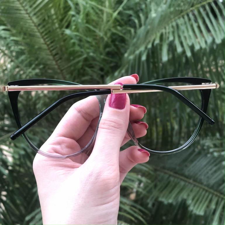 safine com br oculos de grau gatinho verde doris 4