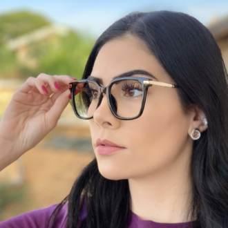 safine com br oculos de grau quadrado preto gabi 2