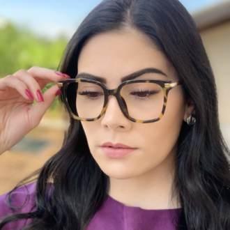 safine com br oculos de grau quadrado tartaruga gabi 1