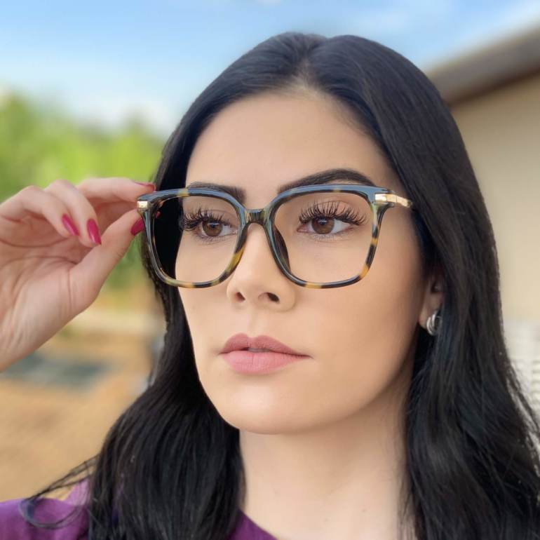 safine com br oculos de grau quadrado tartaruga gabi 2